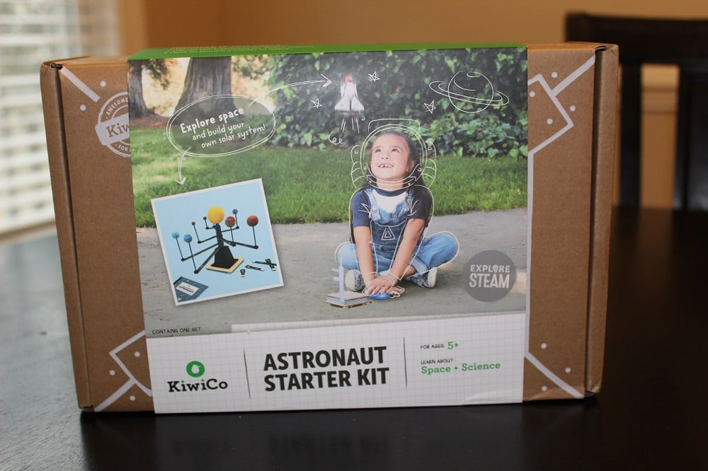 KiwiCo Astronaut Starter Kit and Solar System Model - This is the box that it comes in