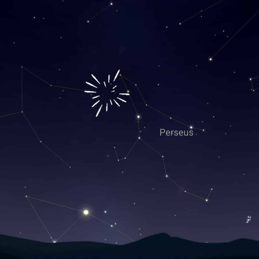 August 11th to 12th - the Perseid Meteor Shower