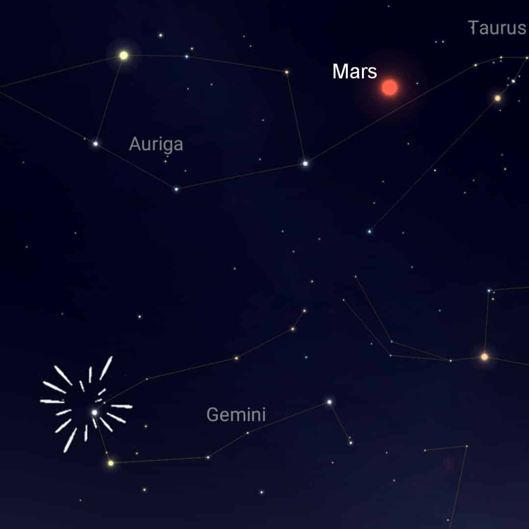 December 13th to 14th - The Geminid Meteor Shower